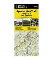 Trails Illustrated Map: Appalachain Trail - Bailey Gap To Calf Mountain