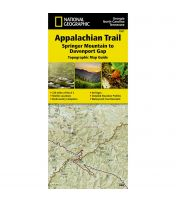 Trails Illustrated Map: Appalachain Trail - Springer Mountain To Davenport Gap