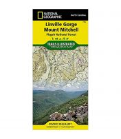 Trails Illustrated Map: Linville Gorge, Mount Mitchell, Pisgah National Forest