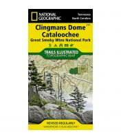 Trails Illustrated Map: Clingmans Dome Cataloochee, Great Smoky Mountains National Park