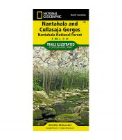 Trails Illustrated Map: Nantahala and Cullasaja Gorges, Nantahala National Forest