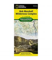 Trails Illustrated Map: Bob Marshall Wilderness Complex