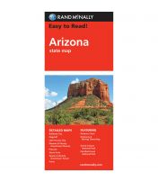 Easy To Read: Arizona State Map