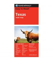 Easy To Read: Texas State Map