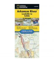 Fishing And River Map: Arkansas River: Leadville To Salida