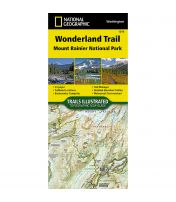 Trails Illustrated Map: Wonderland Trail