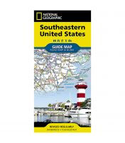 State Guide Map: Southeastern USA Road Map