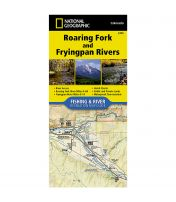 Fishing and River Map: Roaring Fork and Fryingpan Rivers