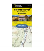 Fishing And River Map: Colorado River: Headwaters To Kremmling
