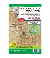 Santa Catalina Mountains Recreational Map