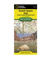 Trails Illustrated Map: Grand Canyon National Park - East