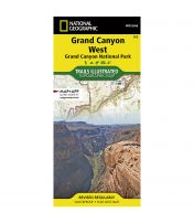 Trails Illustrated Map: Grand Canyon National Park - West