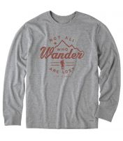 Wander Hike Crusher Tee Long Sleeve