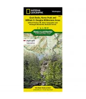 Trails Illustrated Map: Goat Rocks, Norse Peak And William O. Douglas Wilderness Areas - Gifford Pinchot, Mt. Baker-Snoqualmie, And Okanogan-Wenatchee National Forests - 2020 Edition