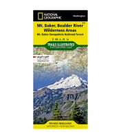 Trails Illustrated Map: Mount Baker and Boulder River Wilderness Areas - Mt. Baker-Snoqualmie National Forest - 2020 Edition