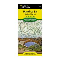 Trails Illustrated Map: Manti-LaSal National Forest - Dark Canyon & Natural Bridges National Monument