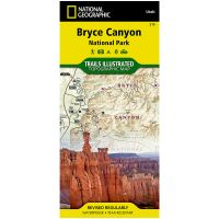 Trails Illustrated Map: Bryce Canyon National Park - 2016 Edition