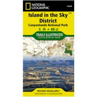 Trails Illustrated Map: Island In the Sky District - Canyonlands National Park