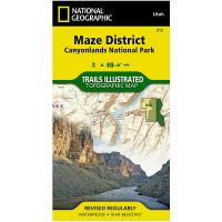 Trails Illustrated Map: Maze District - Canyonlands National Park
