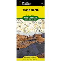 Trails Illustrated Map: Moab North