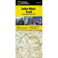 John Muir Trail: Topographic Map Guide