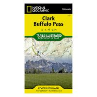 Trails Illustrated Map: Clark/Buffalo Pass