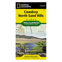 Trails Illustrated Map: Cowdrey/North Sand Hills