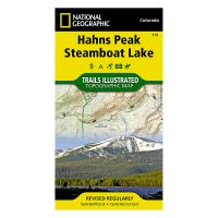 Trails Illustrated Map: Hahns Peak/Steamboat Lake
