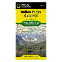 Trails Illustrated Map: Indian Peaks/Gold Hill