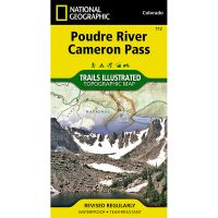 Trails Illustrated Map: Poudre River/Cameron Pass