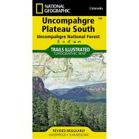 Trails Illustrated Map: Uncompahgre Plateau South - Uncompahgre National Forest