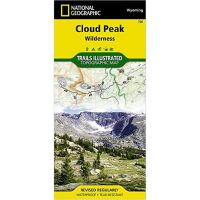 Trails Illustrated Map: Cloud Peak Wilderness