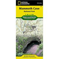 Trails Illustrated Map: Mammoth Cave National Park