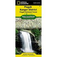 Trails Illustrated Map: Pisgah Ranger District, Pisgah National Forest