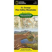 Trails Illustrated Map: St. George, Pine Valley Mountains - 2016 Edition