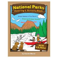 America's National Parks Coloring