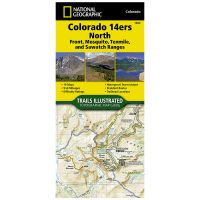 Trails Illustrated Map: Colorado Trail East: Colorado 14Ers North: Sawatch, Mosquito, And Front Ranges