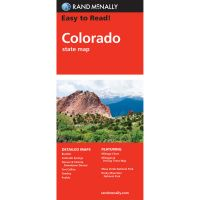 Easy To Read: Colorado State Map