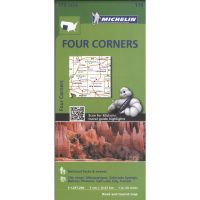 Michelin: Four Corners Road Map