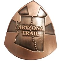 AZT Copper Plated Medallion