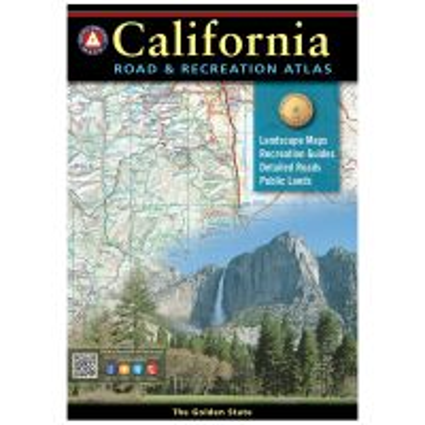 Benchmark Road & Recreation Atlas: California - 2017 Edition