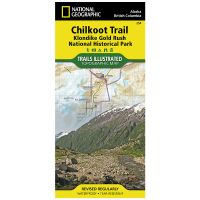 Trails Illustrated Map: Chilkoot Trail, Klondike Gold Rush National Historic Park