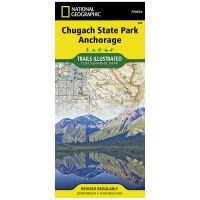 Trails Illustrated Map: Chugach State Park/Anchorage