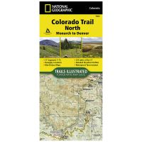 Trails Illustrated Map: Colorado Trail North: Monarch To Denver