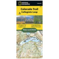 Trails Illustrated Map: Colorado Trail South: Collegiate Loop