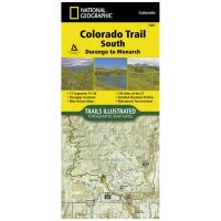 Trails Illustrated Map: Colorado Trail South: Durango To Monarch