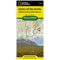 Trails Illustrated Map: Gates Of The Arctic National Park And Preserve