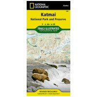 Trails Illustrated Map: Katmai National Park And Preserve