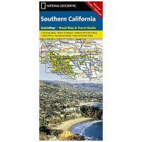 National Geographic: Southern California Road Map