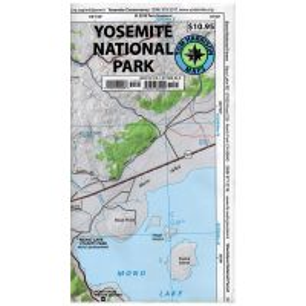 Tom Harrison Maps: Yosemite National Park Recreation Map